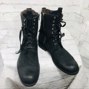 JOHN VARVATOS USA COMBAT ARMY BOOTS  11 NEW